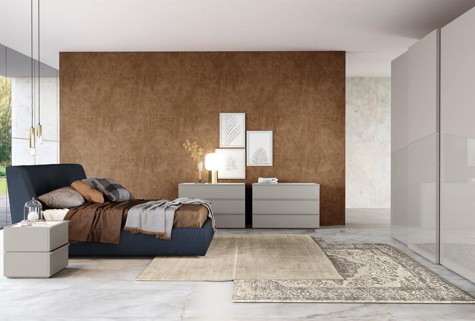 dormitorio mueble italiano   colombinicasa