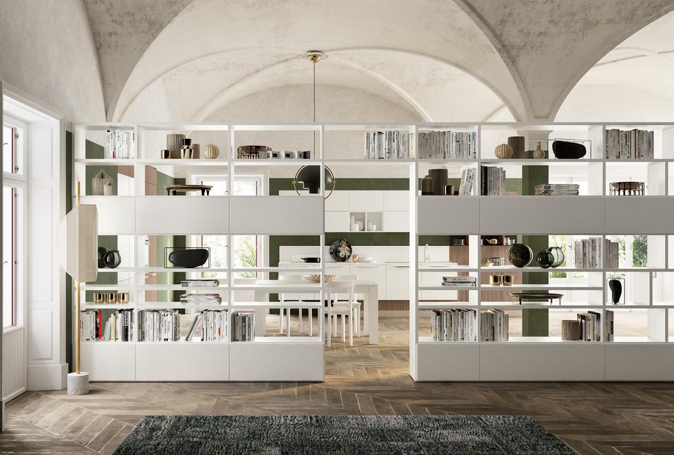 libreria muebles a medida italianos   muebles modernos sevilla   Estudio de interiorismo Sevilla