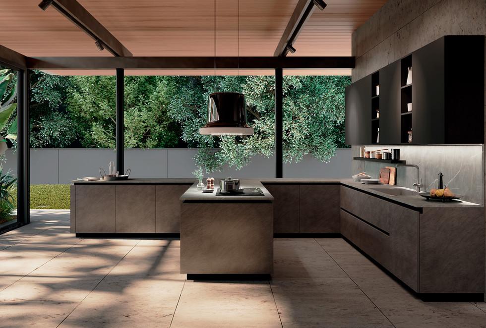 cocina moderna   muebles modernos sevilla   Estudio de interiorismo Sevilla
