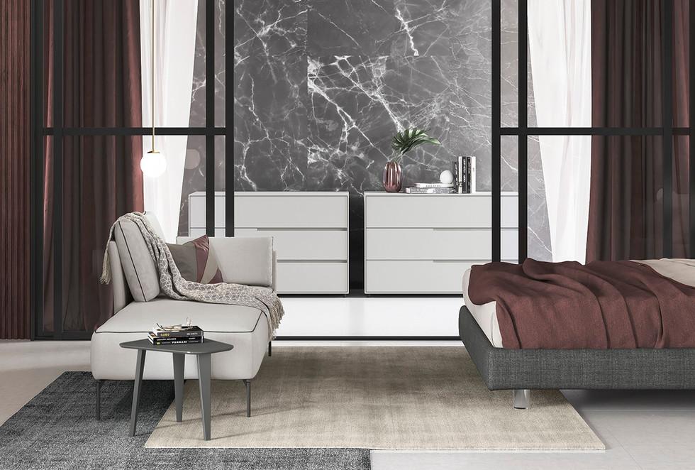 dormitorios modernos muebles italianos   muebles modernos sevilla   Estudio de interiorismo Sevilla