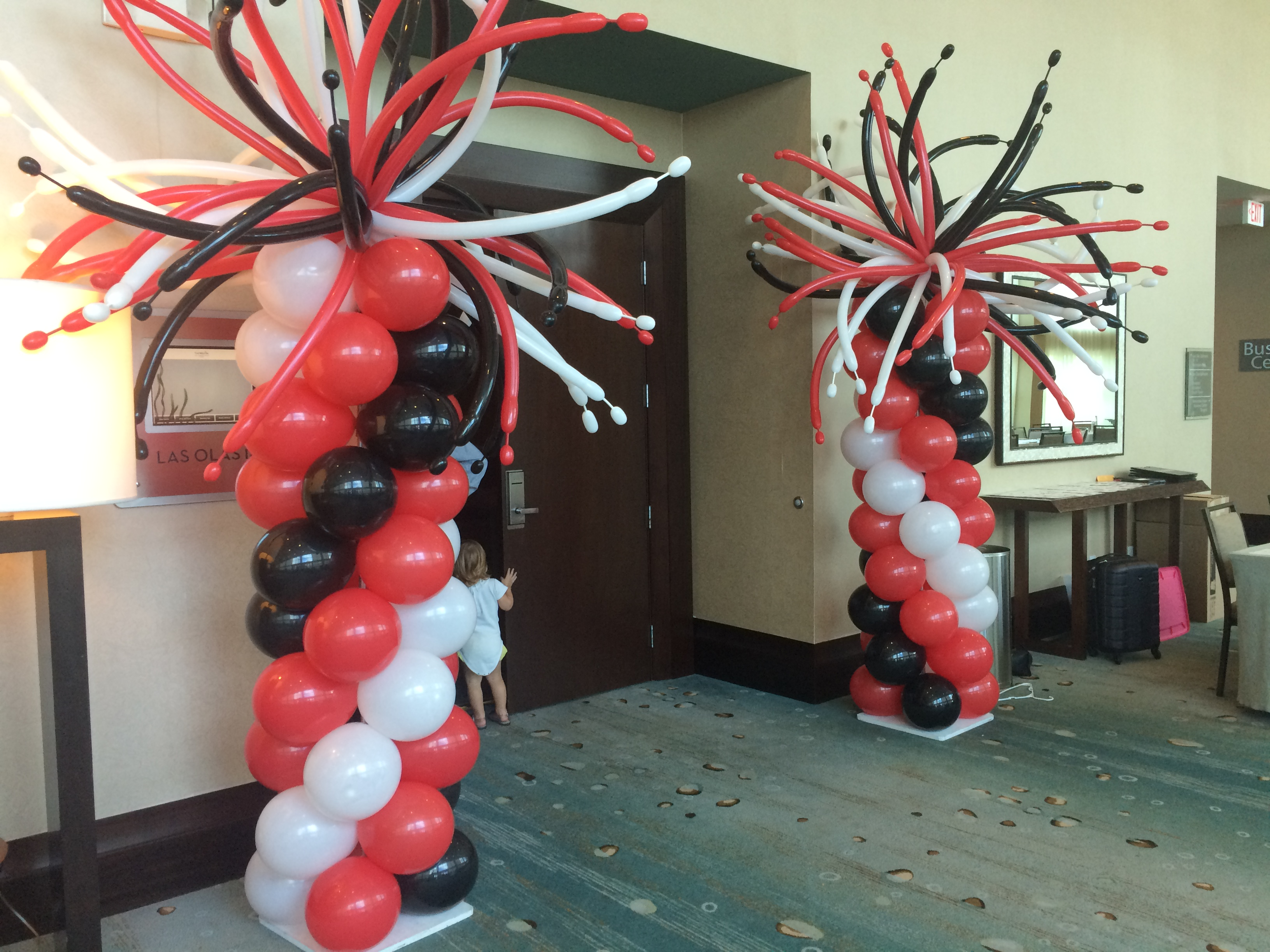 Party Balloon Columns