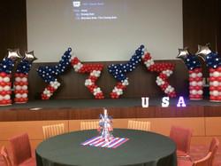 American Star Balloon Sculpture