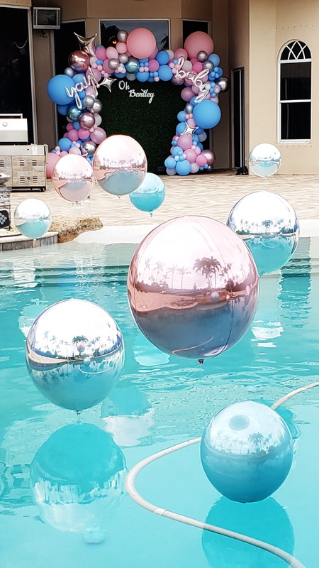 Revile Baby Shower Pool Party