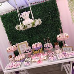 Swim Cake Holder & Backdrop