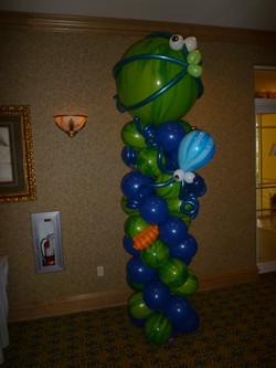 Balloon Fish Column