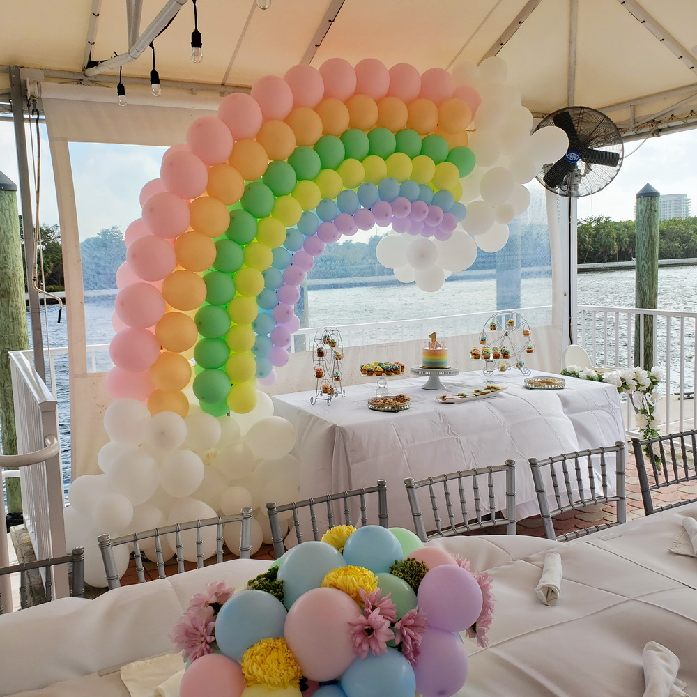 Rainbow Party Theme Decoration