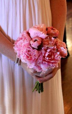 Flower Bouquet in Blush Pink
