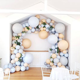 Organic Balloon Garland