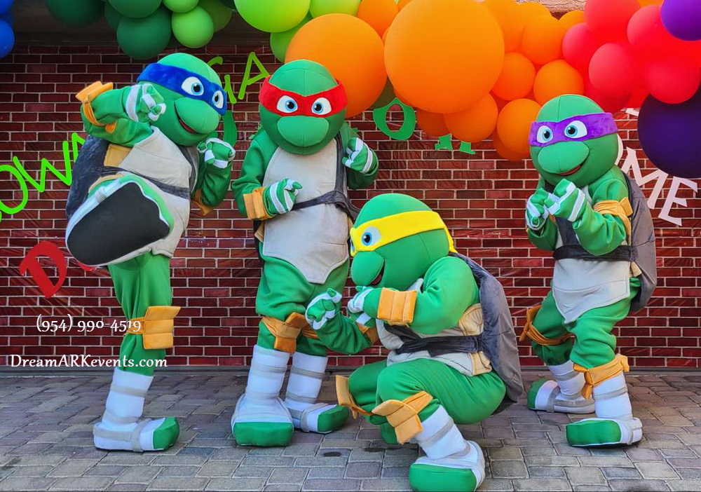 Ninja Turtle Theme Party Decoration!1