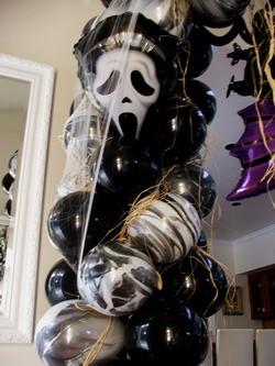 Spooky Balloon Arch