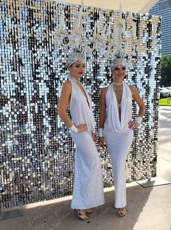 Shimmer Sequins Air Active Backdrop