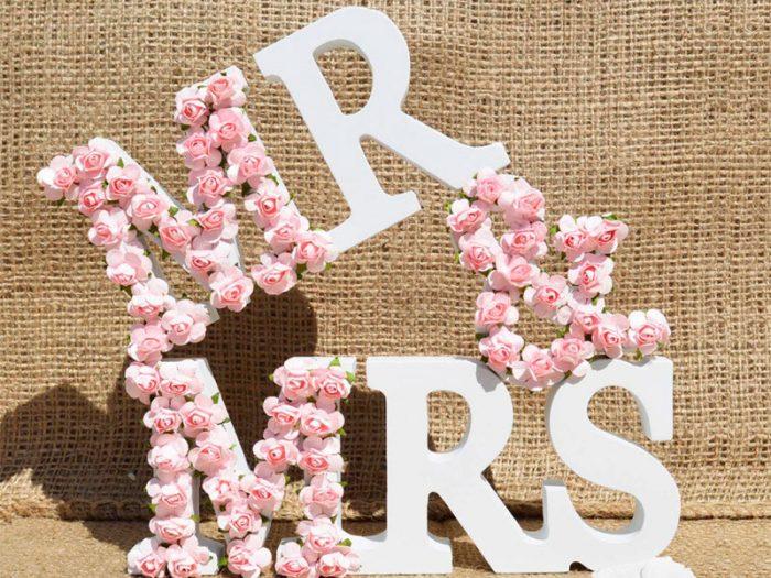 Flowers Letteres