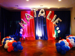 Named Balloon Arch