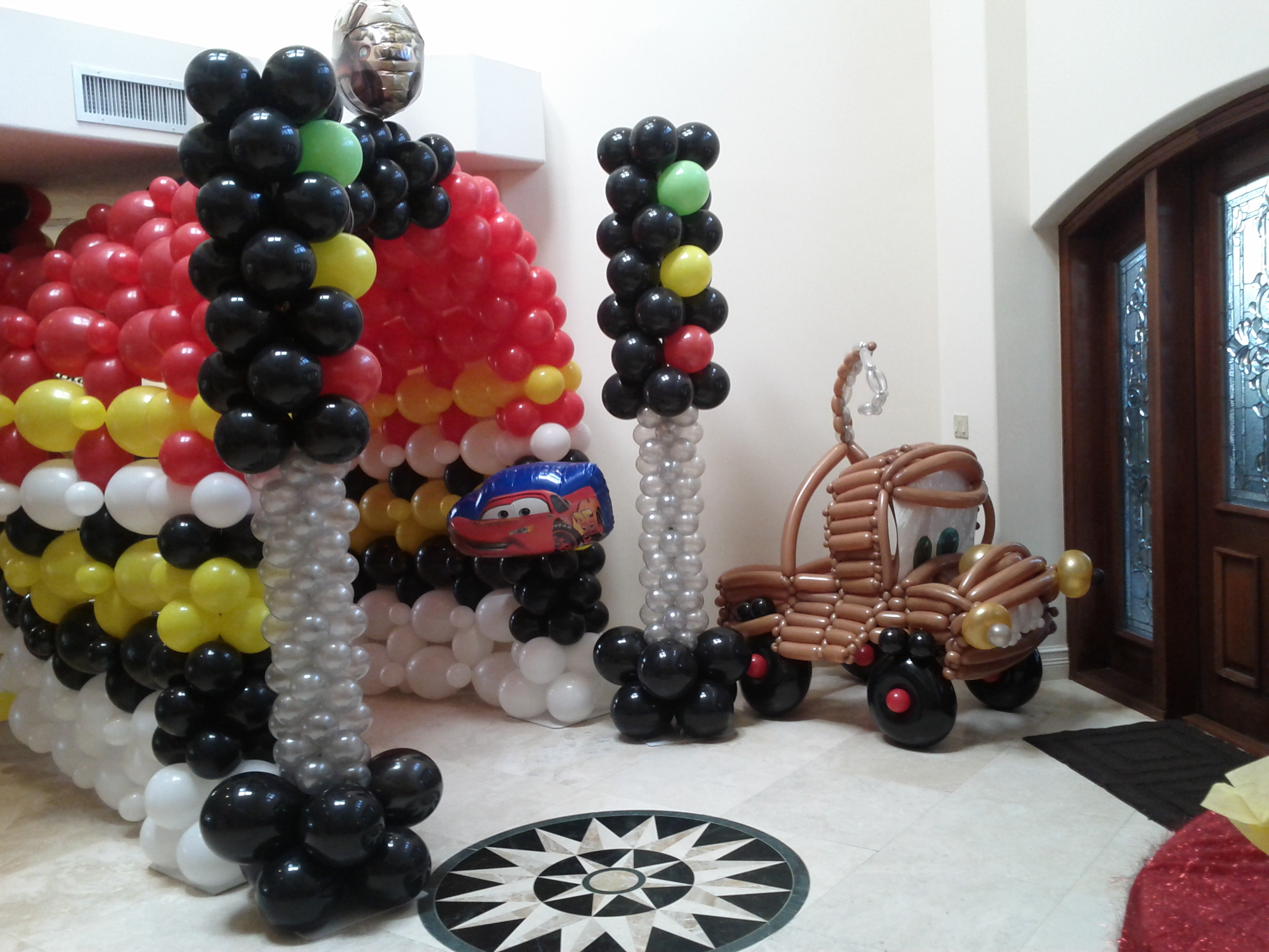 Disney cars themed party