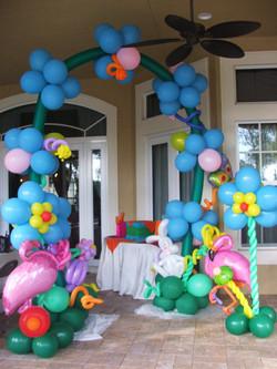 Wonderland Balloon Arch