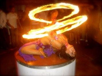 Fire Show dancers entertainment