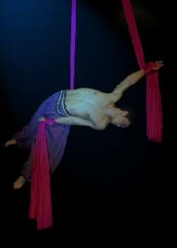 Aerialist performer
