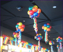 Ceiling Balloon Decoration