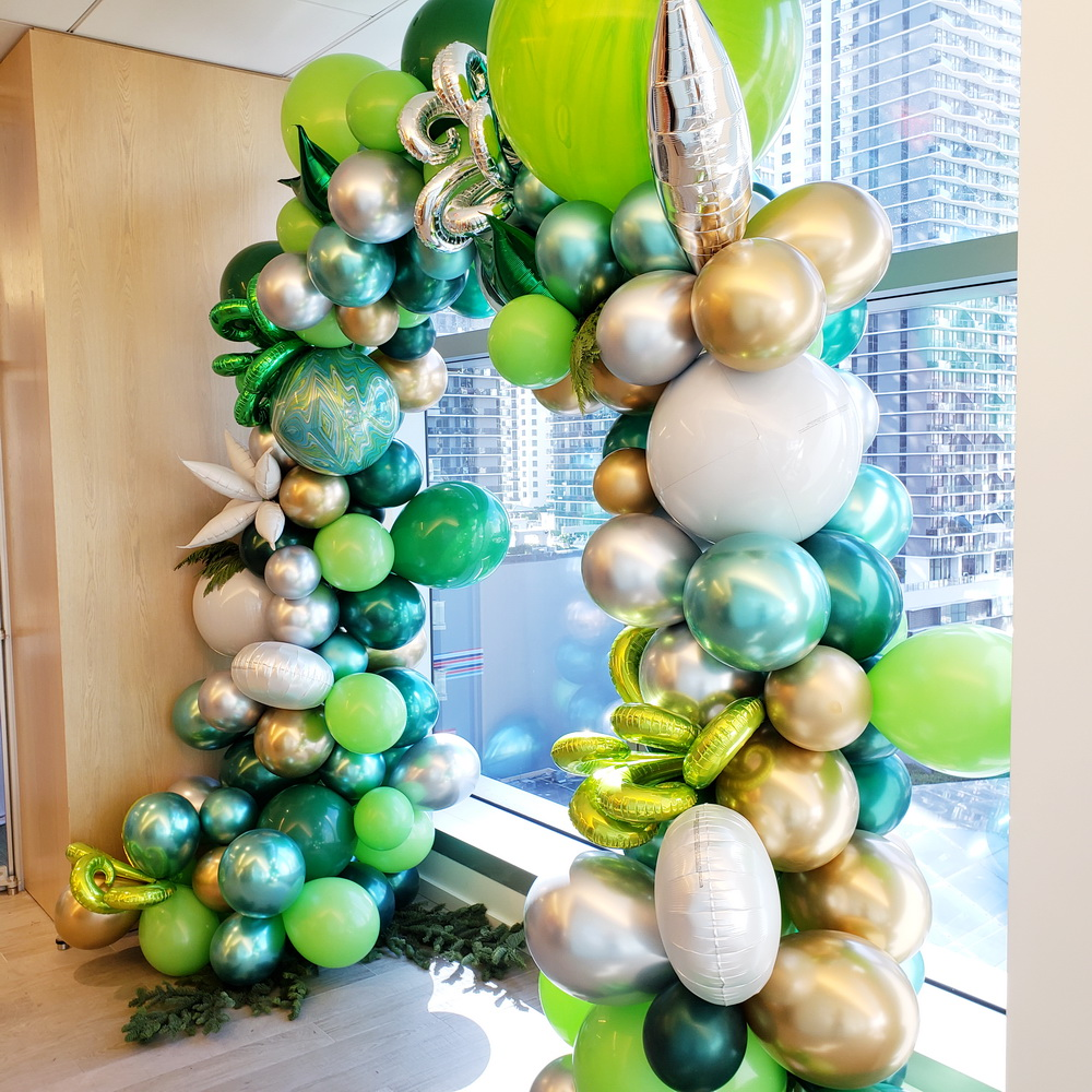 Greenery Balloon Arch