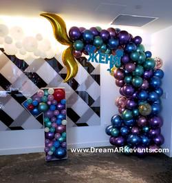 Mermaid Tail & #One Sculpture