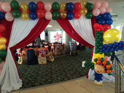 Squarer Balloon Arch