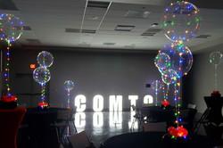 Lighting Balloon Centerpieces