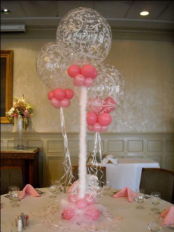 Elegant Pink Balloon Decoration