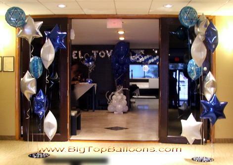 Bar Mitzvah Balloon Decoration