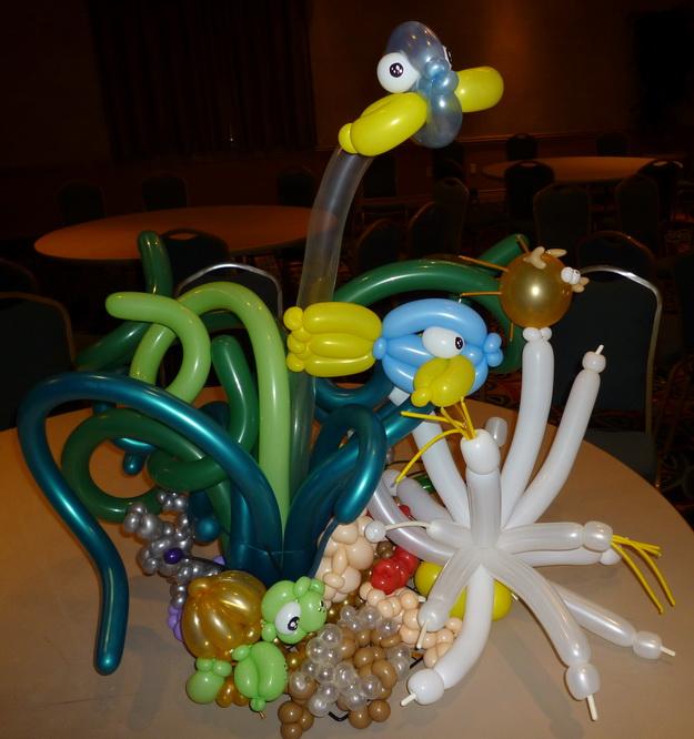Coral & Underwater Theme Centerpiece