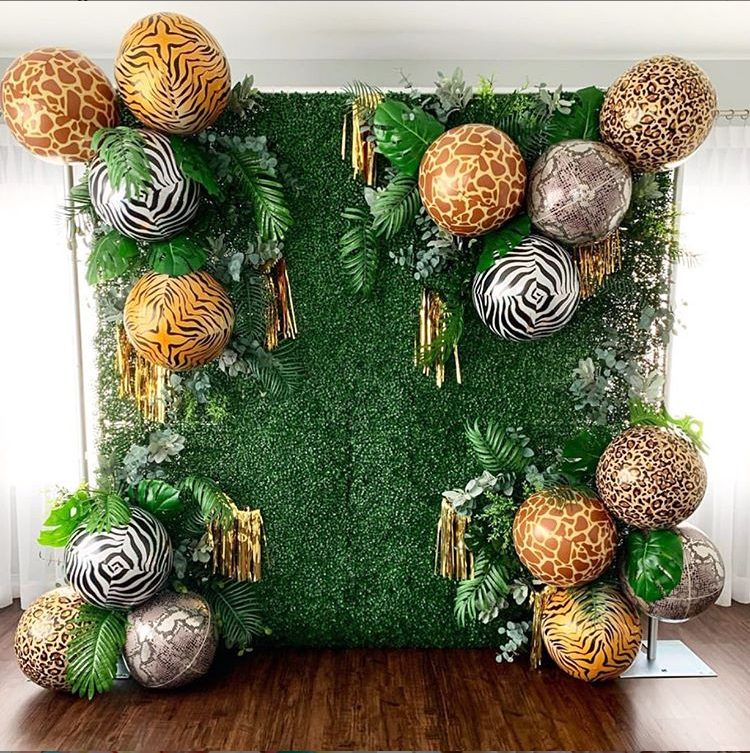 Safari Themed Backdrop