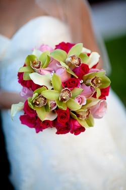Orchids & Roses Bridal Bouquet