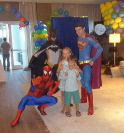 Spider-man, Batman, Superhero