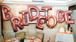 Bride To Be! Big Letters Banner