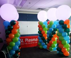 Lighting Balloon Columns