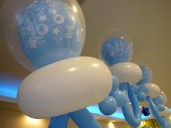 It's Boy! Pacifier Shape Balloon arch