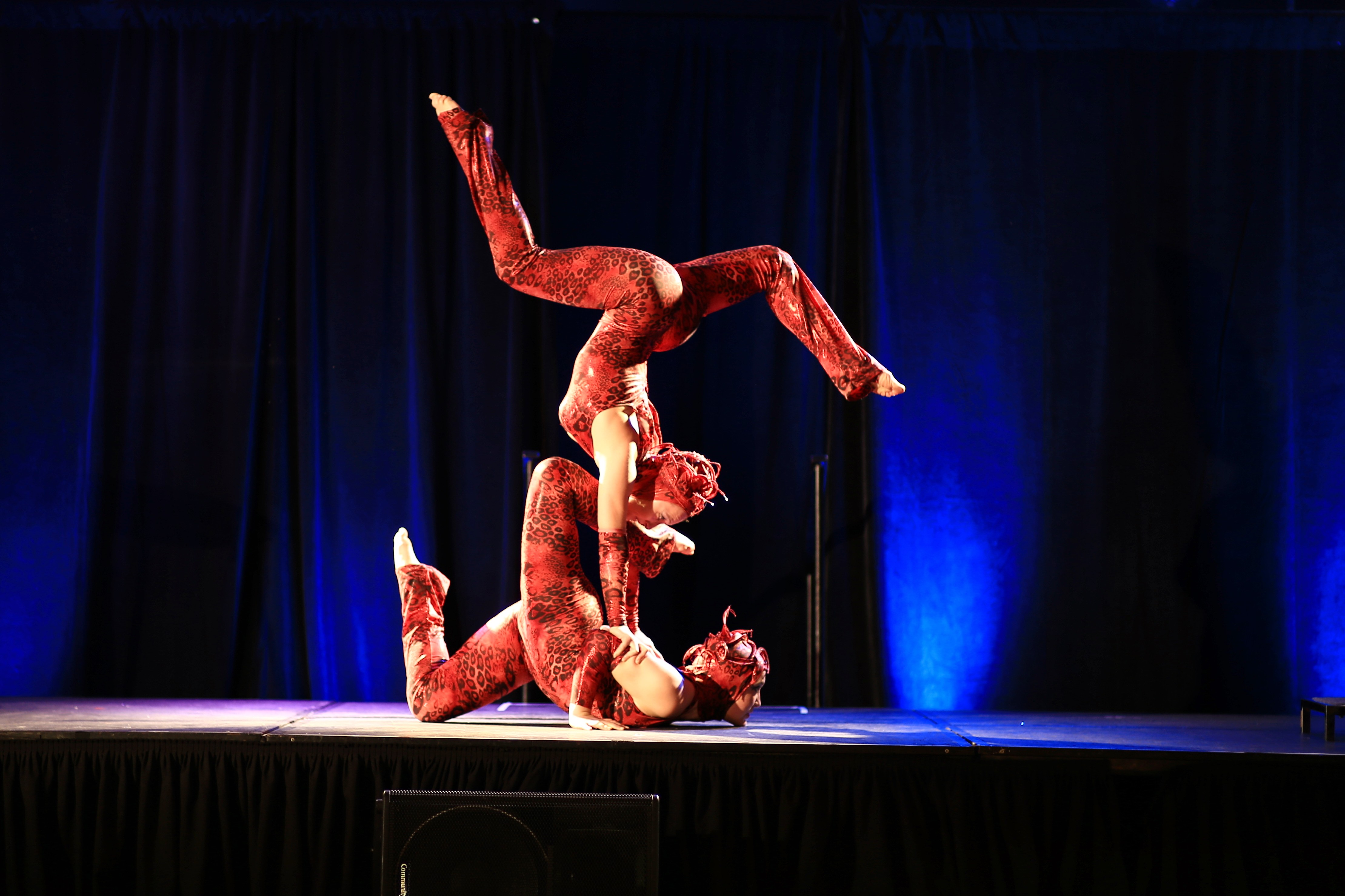 Acrobat Duo Performers