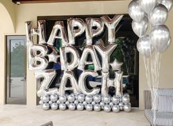 Big Happy Birthday Balloon Display
