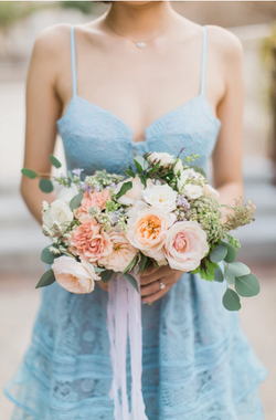 Petite Bouquet With Roses