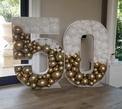 Mosaic Balloon Numbers!