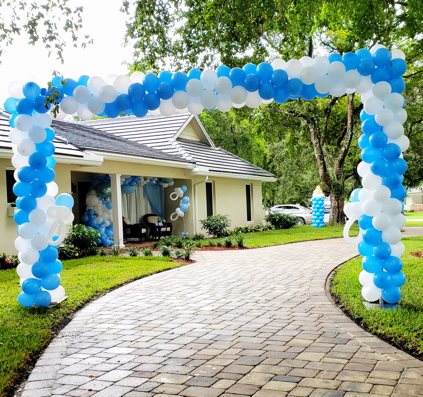 Drive-BY Baby Shower Event Decoration