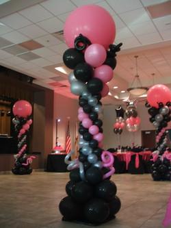 Dance Floor Balloon Canopy