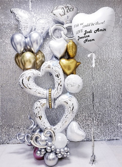 Engagement party luxury balloon design