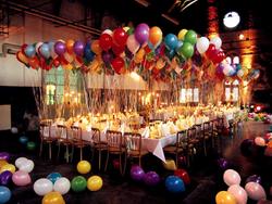 Bunch of Helium Balloons