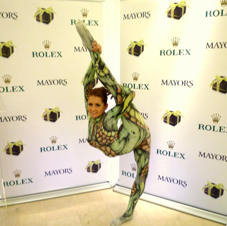 Contortionist Act Performer