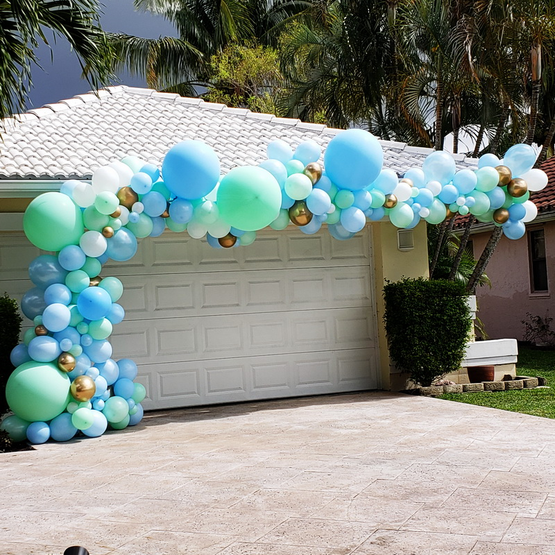 It's a Boy! Baby Shower Balloon Arch Dec