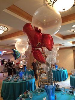 Lobster Balloon Centerpiece