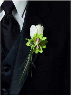 Flower Groom Boutonniere