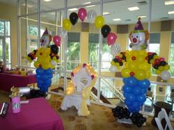 Clown Balloon Characters