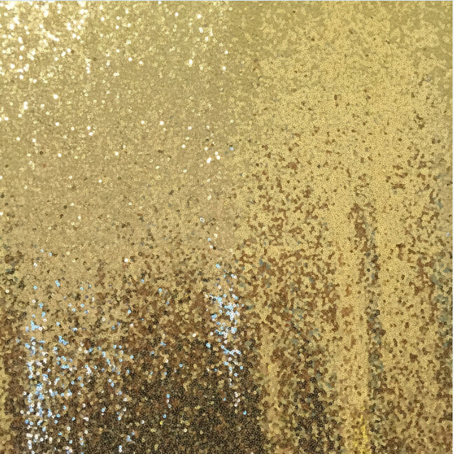 Gold Sequin Photo Backdrop