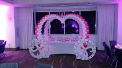 Princess Balloon Carriage Arch